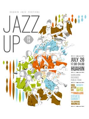 Jazz up Huahin Jazz Festival 2014
