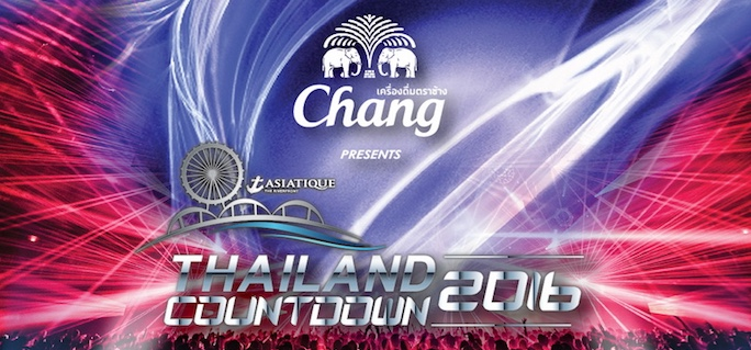 Asiatique Thailand Countdown 2016